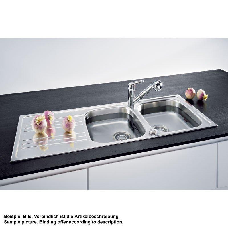 franke einbausp le euroform efx 621 edelstahl glatt 158 00 eur. Black Bedroom Furniture Sets. Home Design Ideas