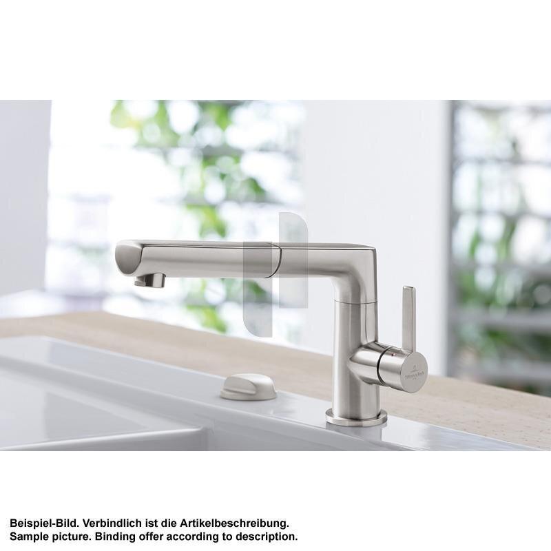 Villeroy & Boch Küchenarmatur Sorano Shower Edelstahl massiv