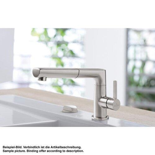 & Boch Küchenarmatur Sorano Shower Edelstahl Massiv