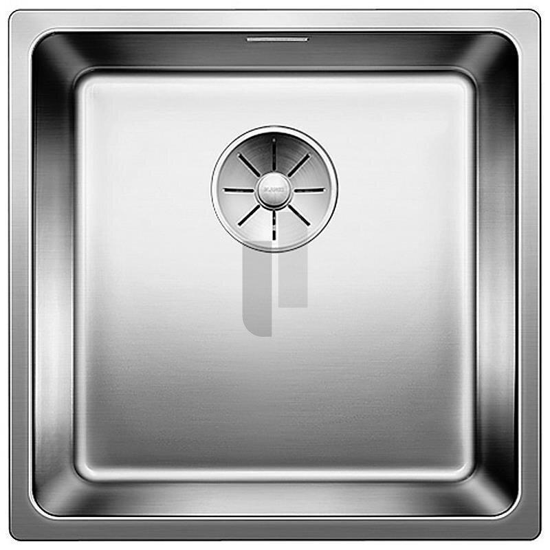blanco einbausp le andano 400 if edelstahl seidenglanz infino ablauf 522957. Black Bedroom Furniture Sets. Home Design Ideas