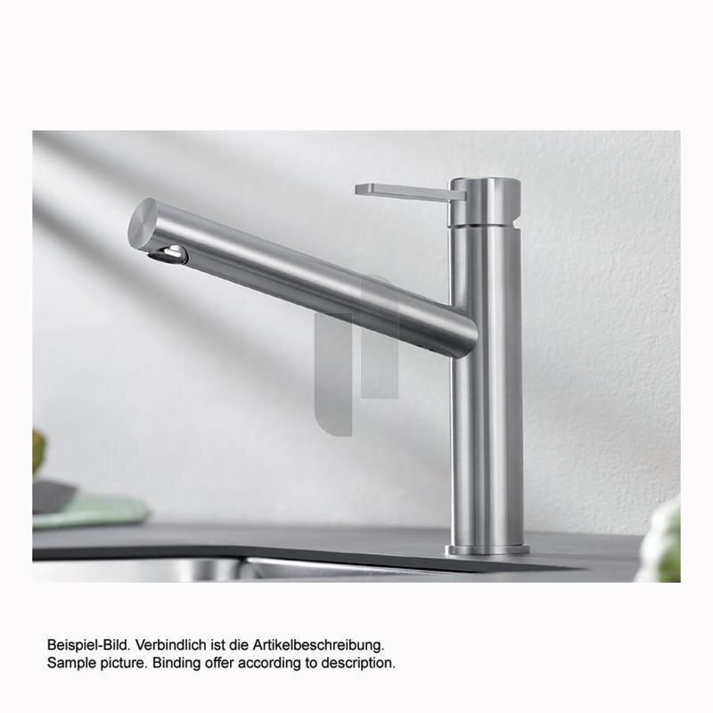 BLANCO Küchenarmatur AMBIS Einhebelmischer | Hochdruck | Edelstahl ...