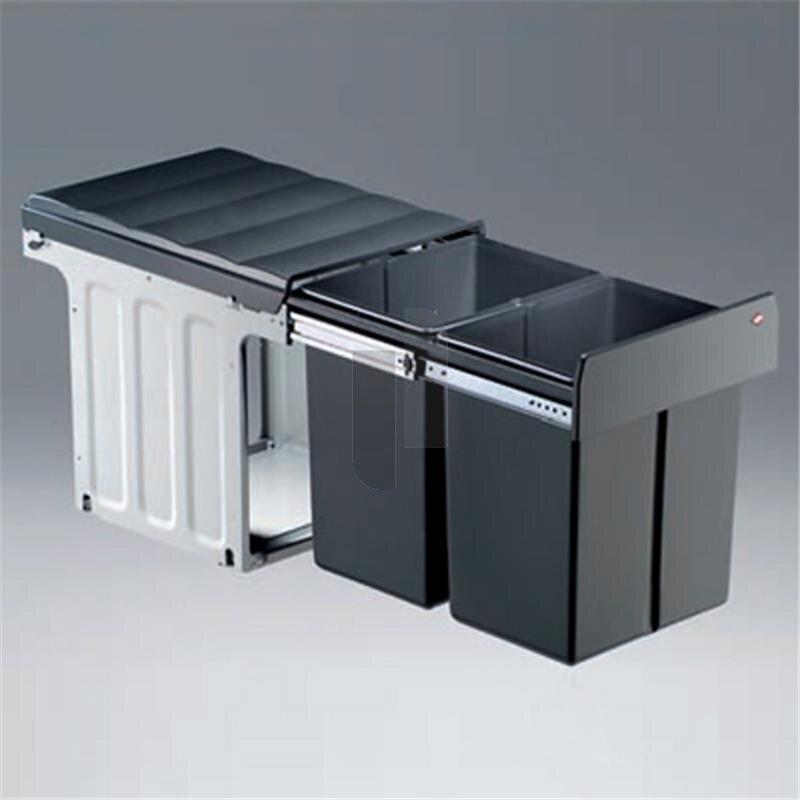 wesco 887911 11 einbau abfallsammler profiline double. Black Bedroom Furniture Sets. Home Design Ideas