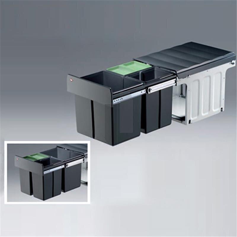 wesco 857721 11 einbau abfallsammler profiline bio trio maxi 40 dt 7. Black Bedroom Furniture Sets. Home Design Ideas