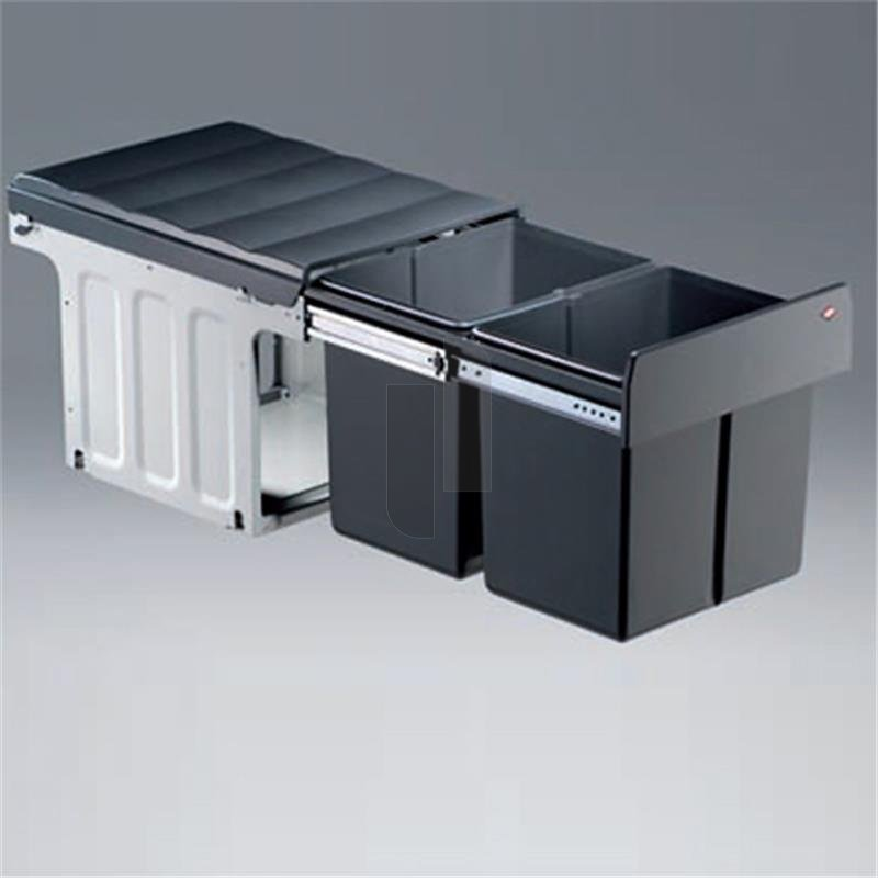 wesco 887811 11 einbau abfallsammler profiline double. Black Bedroom Furniture Sets. Home Design Ideas