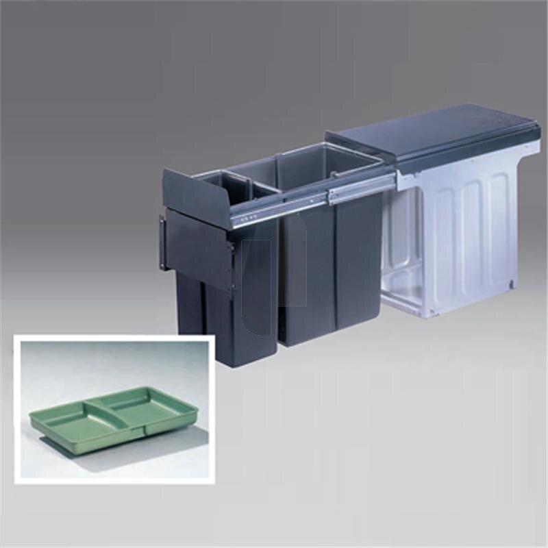 wesco 885301 11 einbau abfallsammler profiline bio double 30 bm. Black Bedroom Furniture Sets. Home Design Ideas