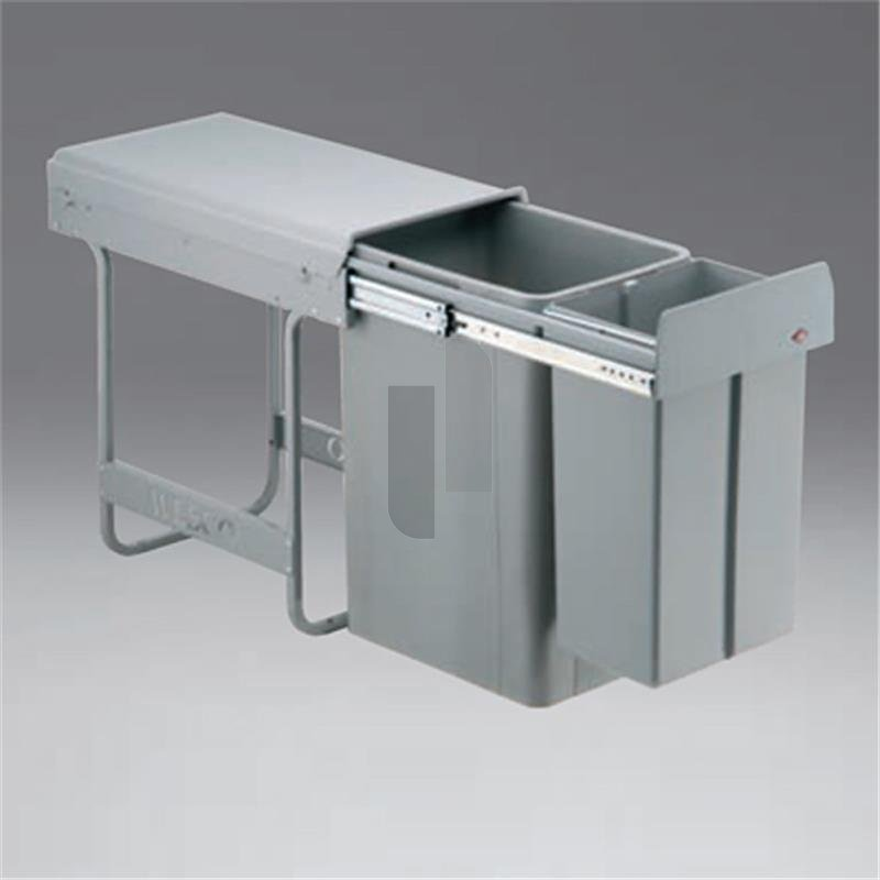 wesco 757801 85 einbau abfallsammler big bio double 30 dt. Black Bedroom Furniture Sets. Home Design Ideas