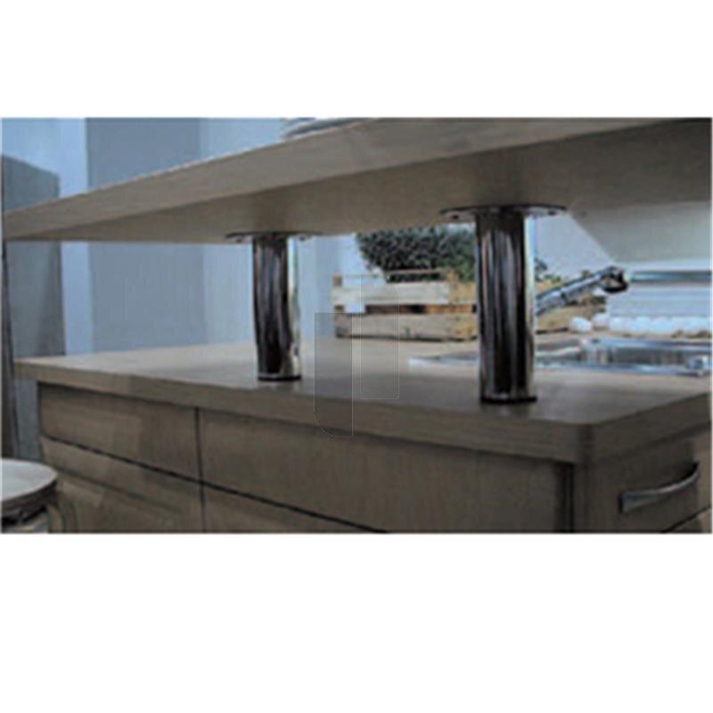 barkonsole bkf45 220 edelstahl optik. Black Bedroom Furniture Sets. Home Design Ideas