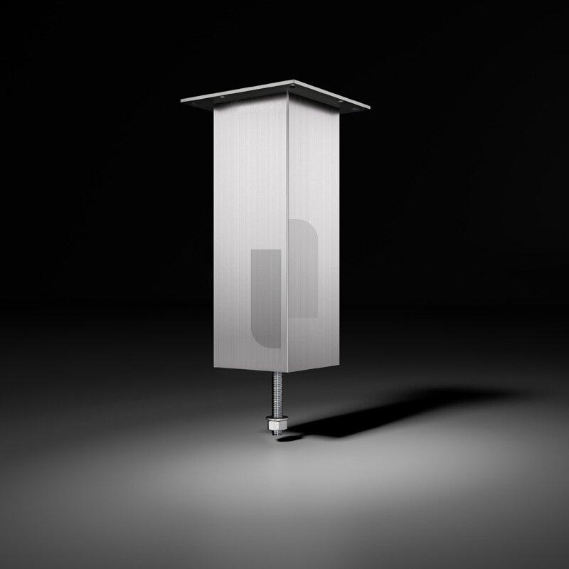 barkonsole jumbo edelstahl optik. Black Bedroom Furniture Sets. Home Design Ideas