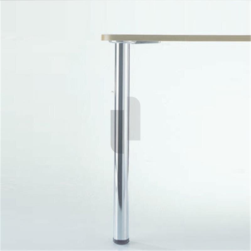 st tzfu tischbein 870 mm hoch d 80 mm verchromt. Black Bedroom Furniture Sets. Home Design Ideas