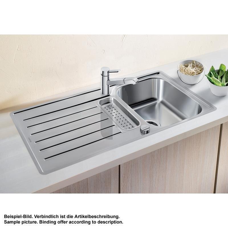 blanco einbausp le blancolantos 5 s if edelstahl b rstfinish. Black Bedroom Furniture Sets. Home Design Ideas