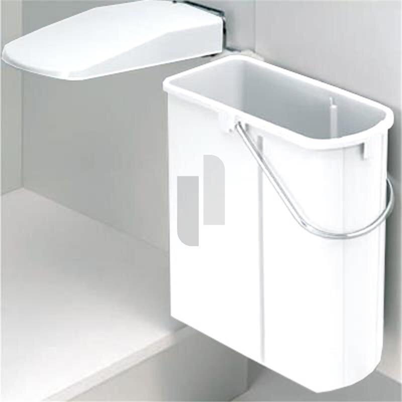 wesco 700411 10 einbau abfallsammler dt 19 liter weiss euro. Black Bedroom Furniture Sets. Home Design Ideas