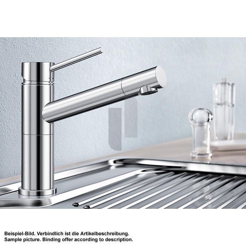 Blanco kuchenarmatur alta compact einhebelmischer for Blanco küchenarmatur
