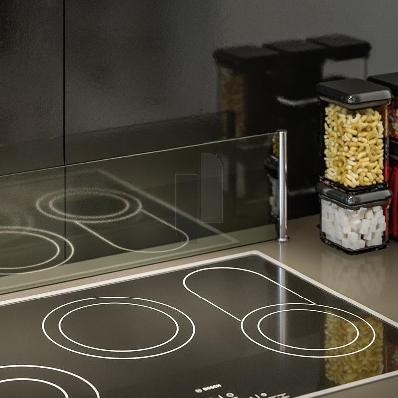 herd spritzschutz 39 protect 39 hinter kochstelle b 120 cm. Black Bedroom Furniture Sets. Home Design Ideas
