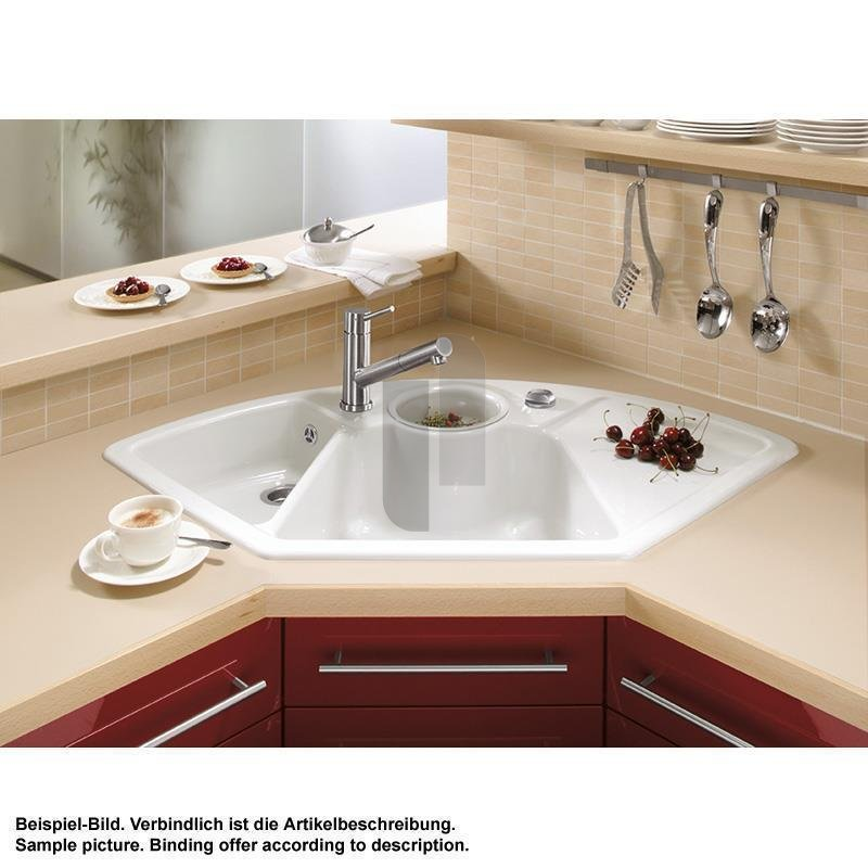 Bathroom And Kitchen Remodel Set: Villeroy & Boch Einbauspüle Solo Eck