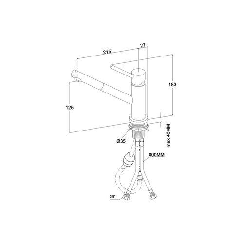& boch küchenarmatur como shower window vor-fenster-armatur ... - Villeroy Und Boch Küchenarmaturen