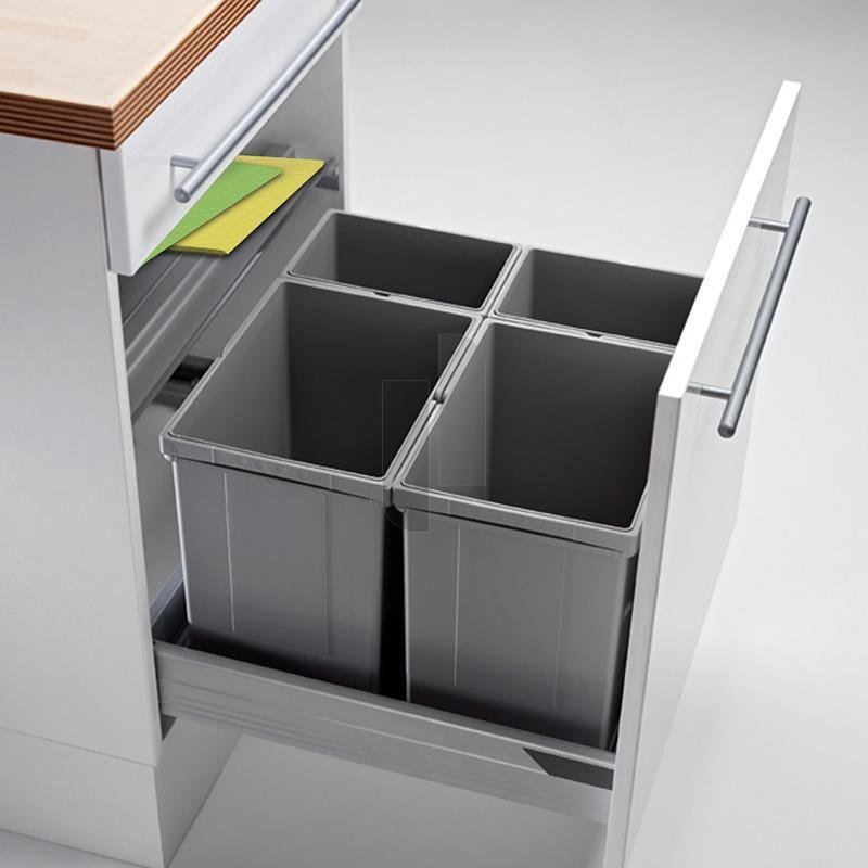wesco 833604 85 einbau abfallsammler pullboy vario 60. Black Bedroom Furniture Sets. Home Design Ideas