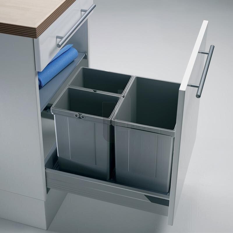 wesco 833502 85 einbau abfallsammler pullboy vario 50. Black Bedroom Furniture Sets. Home Design Ideas