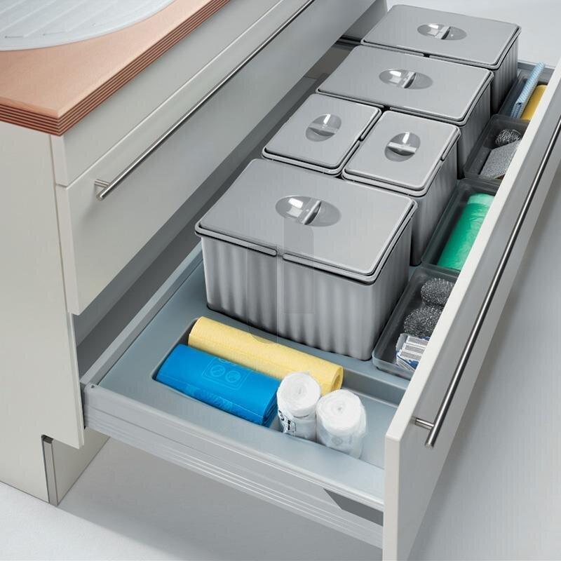 wesco 836916 11 einbau abfallsammler pullboy flex 120. Black Bedroom Furniture Sets. Home Design Ideas